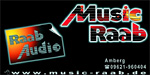 Logo Music Raab mit Raab Audio